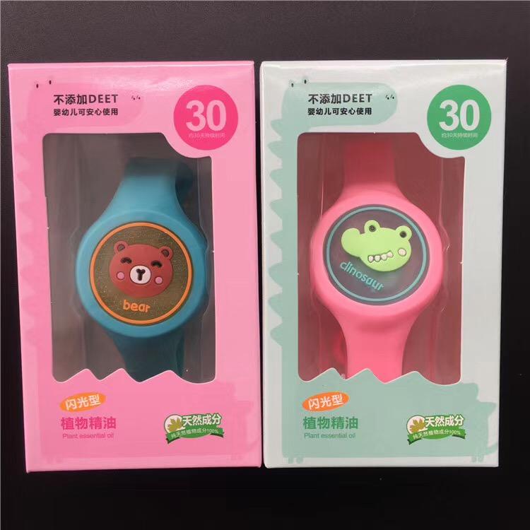 卡通驱蚊手表批发 夏季卡通驱蚊手表好卖吗