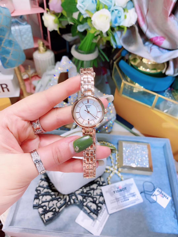 天梭手表T094 T-lady 弗拉明戈系列
